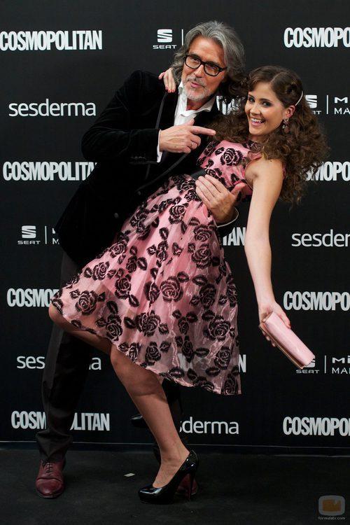 Lucía Ramos en los Premios Cosmopolitan 2014