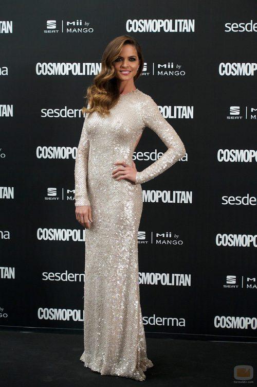 Romina Belluscio en los Premios Cosmopolitan 2014
