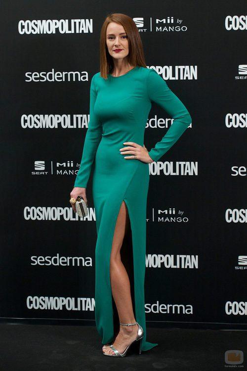 Ana María Polvorosa en los Premios Cosmopolitan 2014