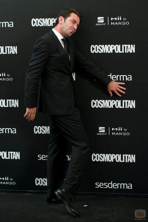 Arturo Valls en los Premios Cosmopolitan 2014