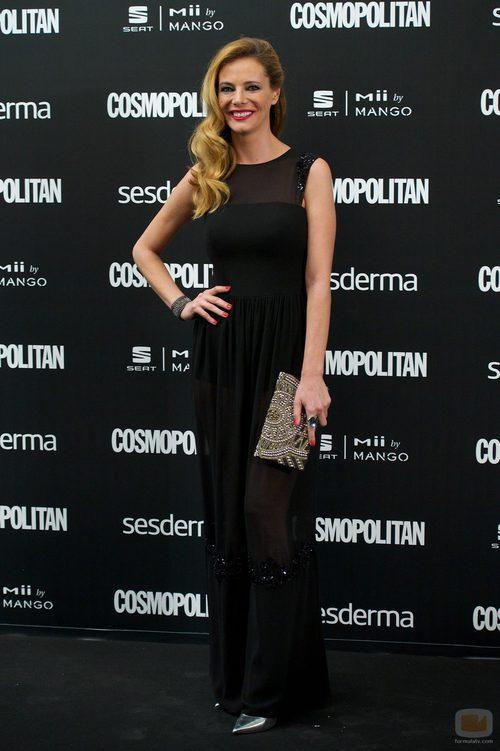 Paula Vázquez en los Premios Cosmopolitan 2014