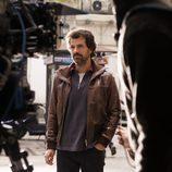 Rodolfo Sancho en el rodaje de 'El Ministerio del Tiempo'