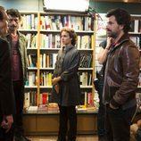 Los actores de 'El Ministerio del Tiempo' ruedan las primeras secuencias