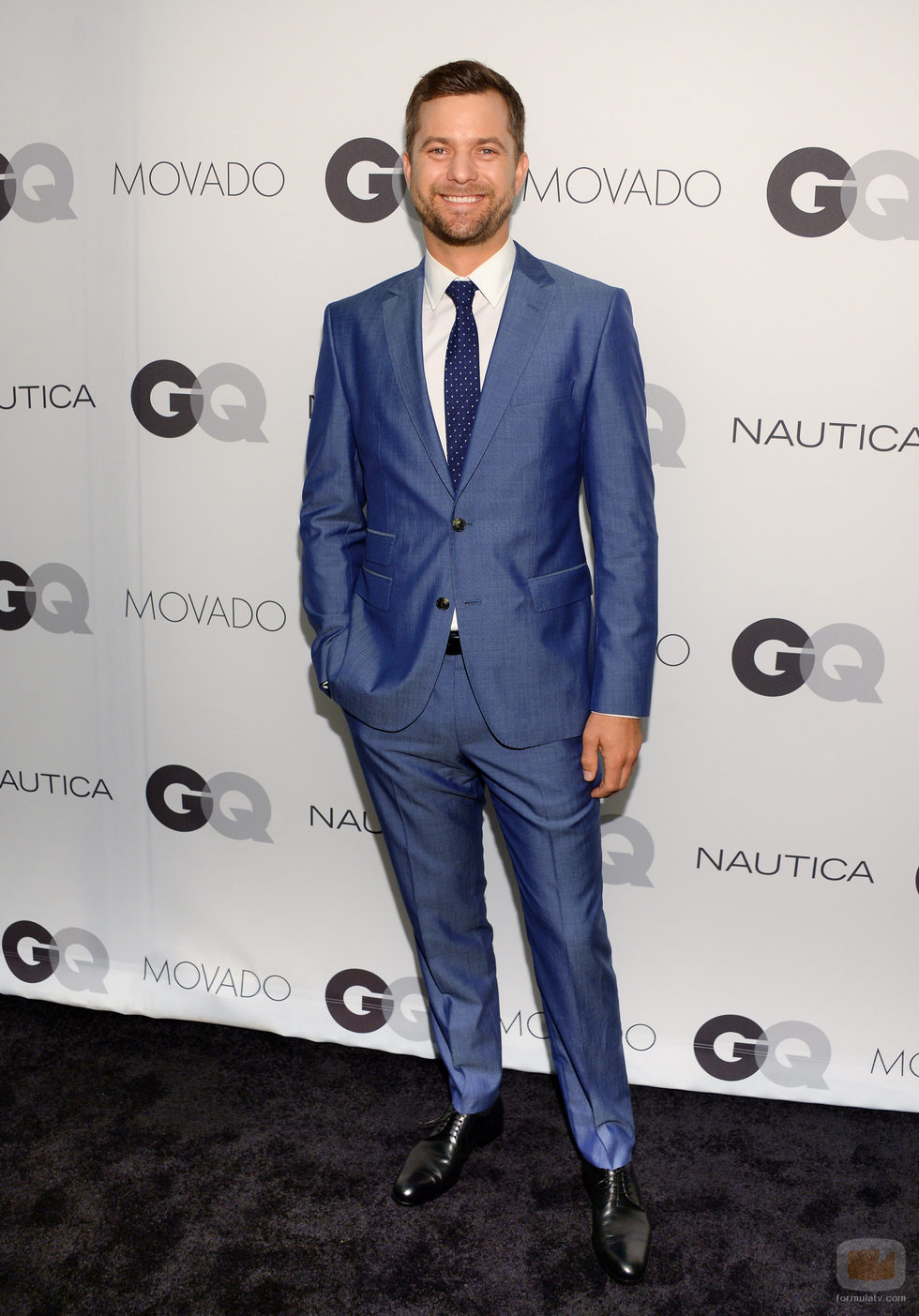 Joshua Jackson en la Fiesta GQ de Nueva York