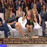 María Patiño enseña su ropa interior sin darse cuenta en 'Sálvame deluxe'