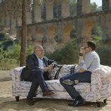Carod Rovira y Risto Mejide en 'Viajando con Chester'