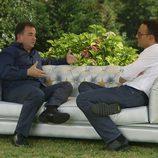 Martin Berasategui y Risto Mejide en 'Viajando con Chester'