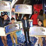 Los ganadores individuales de 'Pequeños Gigantes'