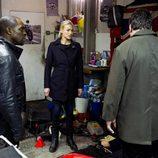 Jack Bauer, Yvonne Strahovski y Gbenga Akinnagbe en '24: Vive otro día'