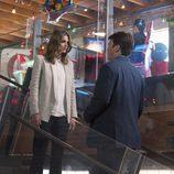 Stana Katic y Nathan Fillion en la séptima temporada de 'Castle'
