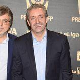 Josep Pedrerol en los Premios LFP 2014