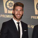 Sergio Ramos en los Premios LFP 2014