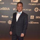 Secun de la Rosa en los Premios LFP 2014