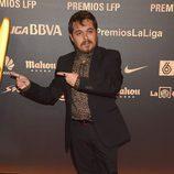 Jimmy Barnatán en los Premios LFP 2014