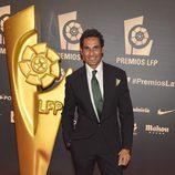 Óscar Higares en los Premios LFP 2014