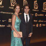 Jessica Bueno y Jota Peleteiro en los Premios LFP 2014