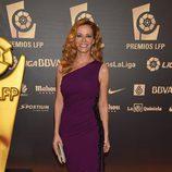 Paula Vázquez en los Premios LFP 2014