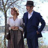 Alfonso y Emilia se visten de los años 20 en 'El secreto de Puente Viejo'