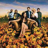 Cartel promocional de la segunda temporada de 'Weeds'