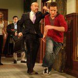 Javier Cámara corre en 'Lex'