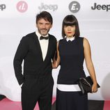 Fernando Tejero y Laura Caballero en la Jeepster Party