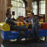Albert Rivera y Risto Mejide en 'Viajando con Chester'