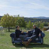 Bertin Osborne y Risto Mejide en 'Viajando con Chester'