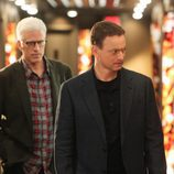 Ted Danson y Gary Sinise en el cross over de 'CSI: Las Vegas' y 'CSI: Nueva York'