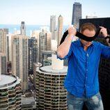Nik Wallenda en Chicago