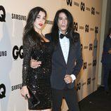 Mario Vaquerizo y su hermana Marta en los Premios GQ Hombres del Año 2014
