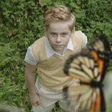 Juan Carlos de niño en 'El rey'