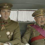 Juan Carlos y Franco en 'El rey'