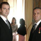 Juan de Borbón y Juan Carlos en 'El rey'