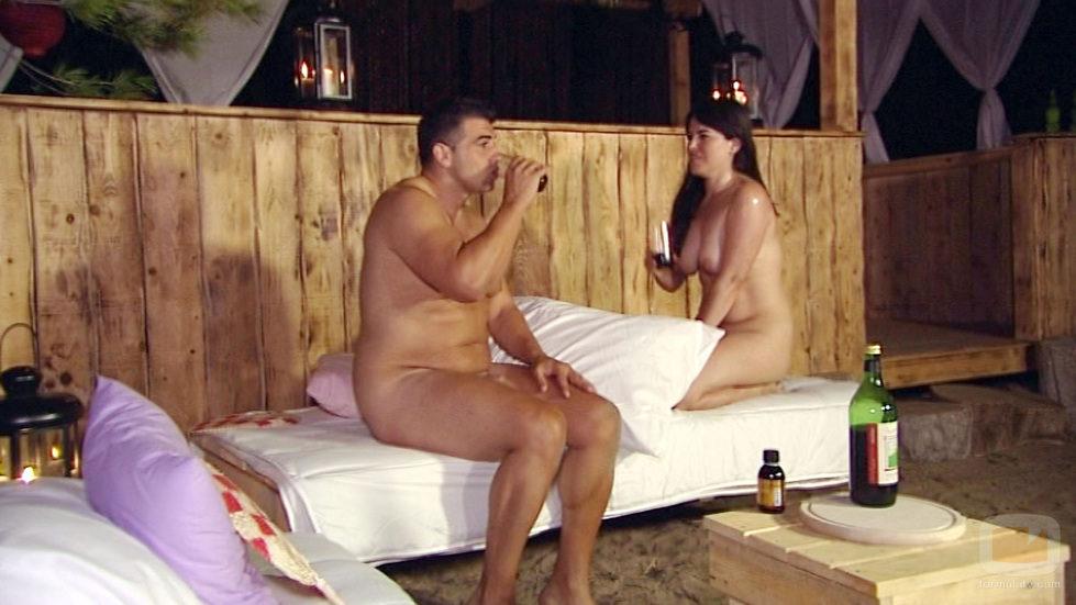 Maite y Carlos beben en 'Adán y Eva'