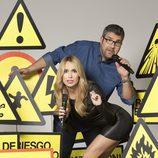Florentino Fernández y Patricia Conde en 'Killer Karaoke'
