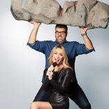 Los presentadores Patricia y Flo en 'Killer Karaoke'