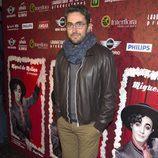 Máxim Huerta en el estreno de la obra de teatro 'Miguel de Molina al desnudo'