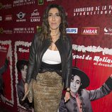 Paz Padilla en el estreno de la obra de teatro 'Miguel de Molina al desnudo'
