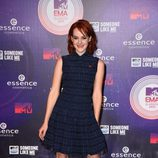 Jena Malone en la alfombra roja de los MTV EMA 2014