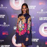 Alesha Dixon en la alfombra roja de los MTV EMA 2014