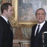 Juan Carlos y Juan de Borbón en 'El rey'