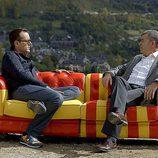 Francesc Boya y Risto Mejide en 'Viajando con Chester'