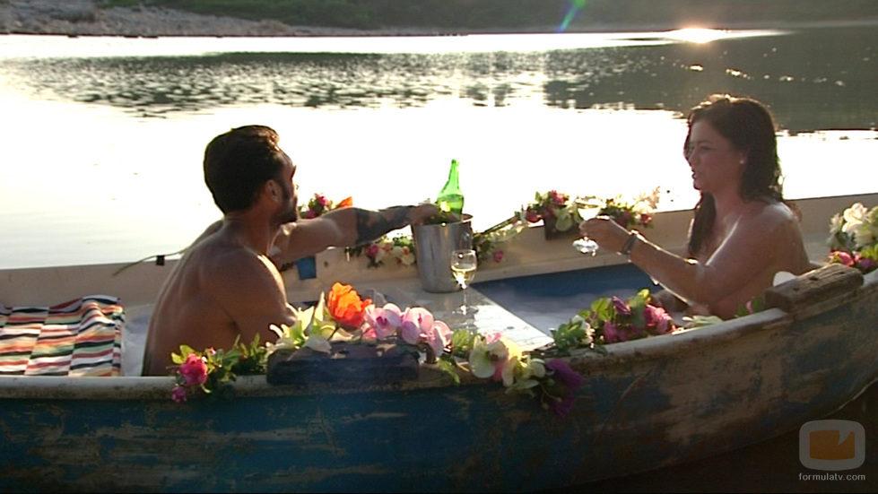 Montse y Alejandro en 'Adán y Eva'