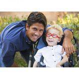 Fernando Verdasco posa para el calendario 2015 del Hospital de San Rafael