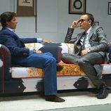 Fran Rivera y Risto Mejide en 'Viajando con Chester'