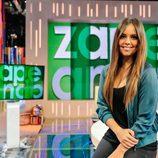 Cristina Pedroche en el plató de 'Zapeando'