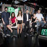 El equipo de 'Zapeando' celebra su primer aniversario
