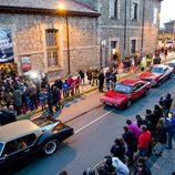 Los coches de la première de 'House of Cars'