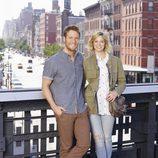 Analeigh Tipton es Dana y Jake McDorman es Peter en 'Manhattan Love Story'