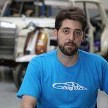 José Ramón es el pintor de 'House of cars'